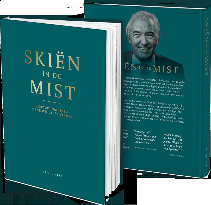 Boek Skiën in de Mist - pleidooi om jezelf opnieuw uit te vinden