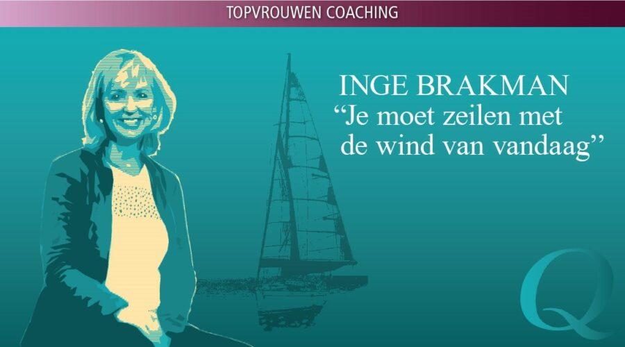 Topvrouwen coachen is inspirerend - interview met topcoach Inge Brakman